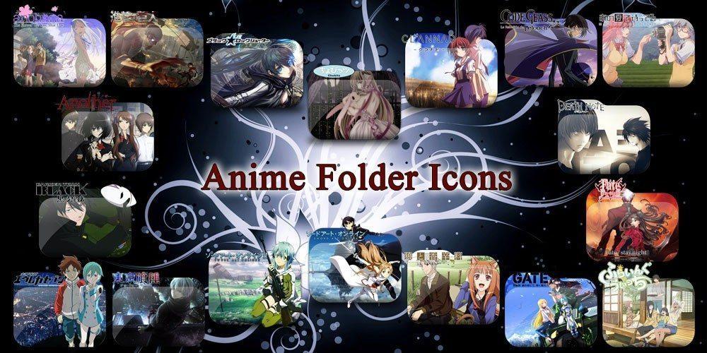 Anime folder Icons