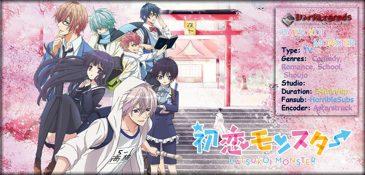 Hatsukoi Monster Open Banner 01