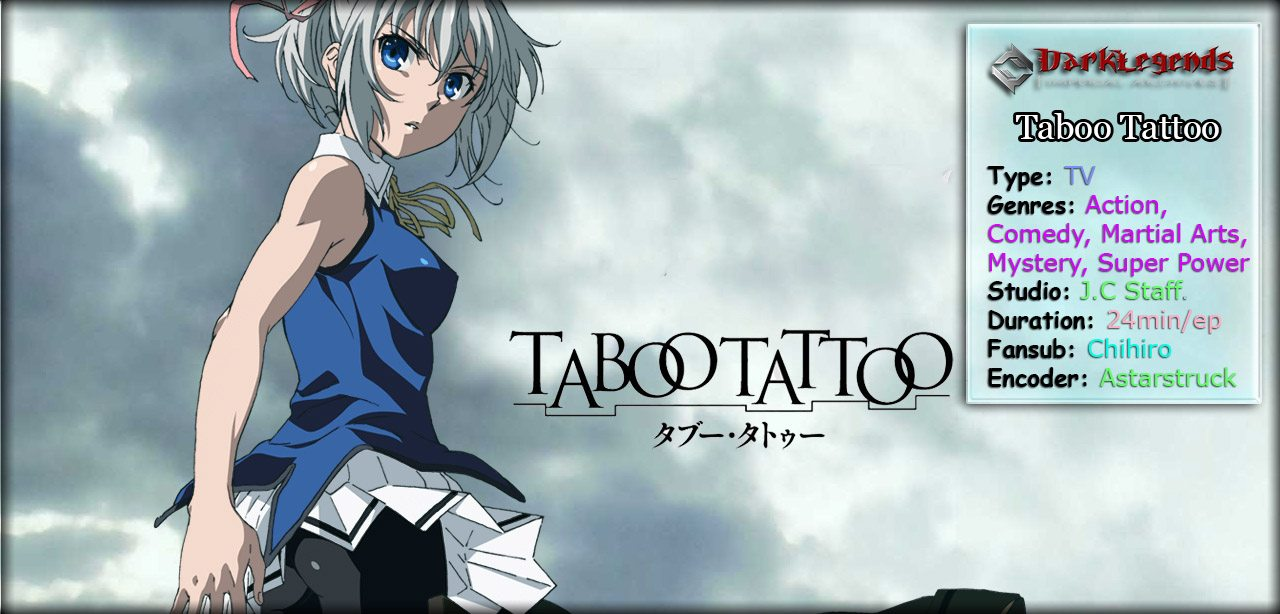 Taboo Tattoo open Banner